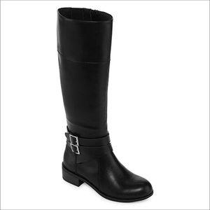 Arizona Denmark Black Riding Boots